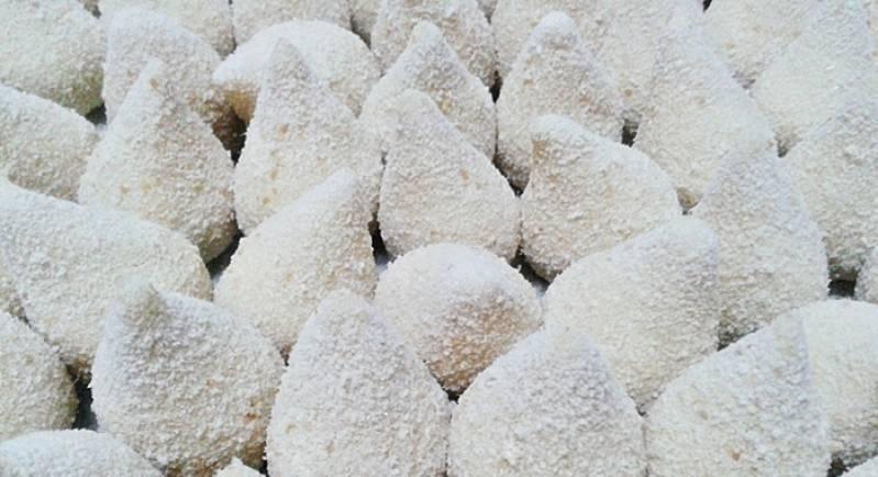 Mini Coxinhas Congeladas Pilar do Sul - Mini Coxinhas Congeladas