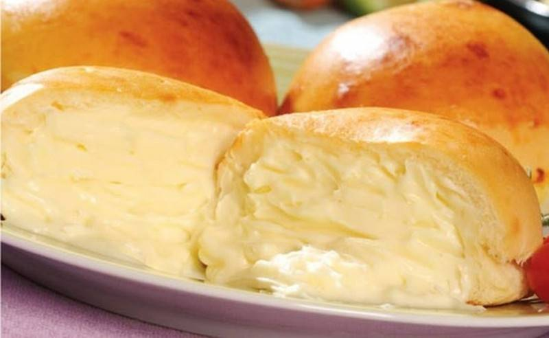 Pão de Batata com Catupiry Congelado Tapiraí - Pão de Batata Grande